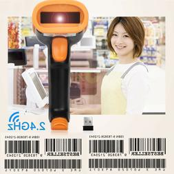 Laser USB Wireless Wired 1D Bluetooth Barcode Scanner f iPho