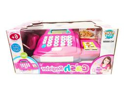 Learning & play Cash Register Set with Sounds, Calculator, S