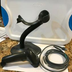 Symbol LS2208 Barcode Scanner With Cable and Stand