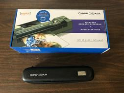 VuPoint Magic Wand Handheld Portable Scanner Auto Feed Dock