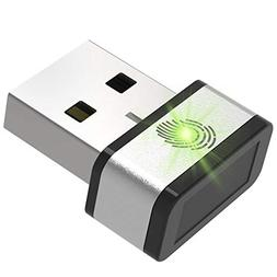 Mini USB Fingerprint Reader for Windows 7,8 & 10 Hello, PQI