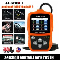 Foxwell NT201 OBDII Car Code Reader Scanner Diagnostic Tool