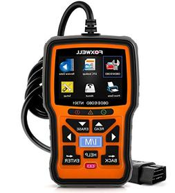 FOXWELL NT301 OBD2 Diagnostic Live Data Reset Code Reader CA