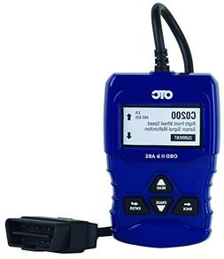 OBD II & ABS Scan Tool with Enhanced Engine and Transmission