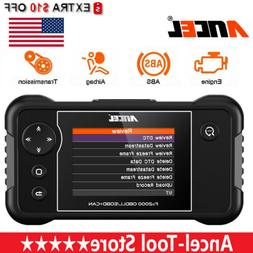 OBDII Engine ABS Airbag & SRS Transmission Diagnostic Tool A