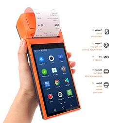 Android pos Terminal Receipt Printer with 5.5 inch Touch Wi