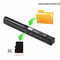 Portable Wireless Scanner 900DPI A4 Document For Windows XP/