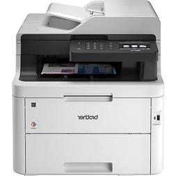 Brother Printer Laser All-In-One 25 ppm 50-Sheet ADF WE/GY M