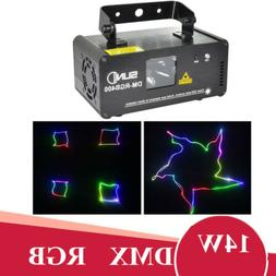 SUNY RGB Laser Scan Light Beam Scanner Projector Light Party