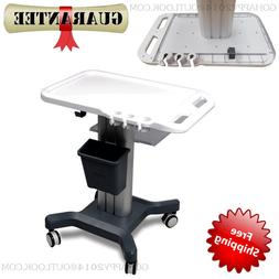 split Trolley mobile cart stands for portable ultrasound sca