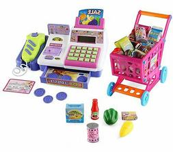 Toy Calculator Cash Register with Scanner and Credit Card Sl