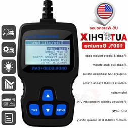 Universal OBD2 Vehicle Engine Code Reader Diagnostic Scan To
