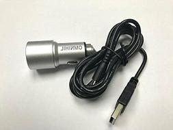 USB Car Charger USB Cable for Socket Mobile CHS 7Ci CX2870-1