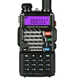 Baofeng UV-5R+ Plus Two way Radio FM Scan V/UHF Dual Band VO