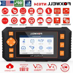FOXWELL NT634 PRO Auto Diagnostic Tool OBD2 Scanner ABS Airb