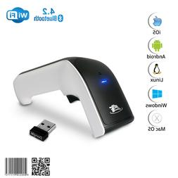Wireless 2D Bluetooth Barcode Scanner: 3-in-1 Rechargeable 1
