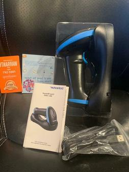 Trohestar Wireless Barcode Scanner with Charging Cradle NS-1