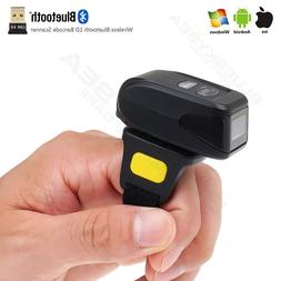 Wireless BTOOTH Barcode Scanner QR Code Reader For IOS Andro