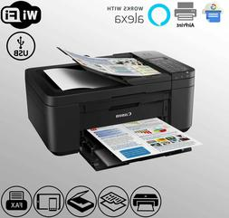 Wireless Canon Fax Printer Scanner WiFi Alexa Duplex TR4522