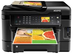 Epson WorkForce WF 3530 Wireless Color Printer with Scanner,
